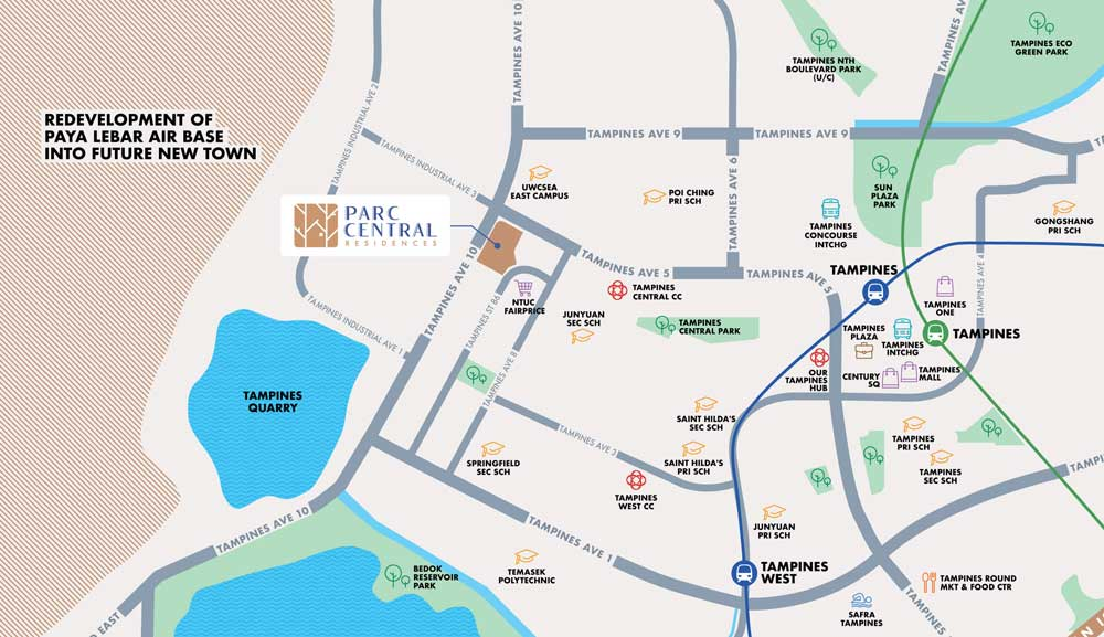 parc-central-residences-location-map